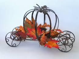 Pumpkin Carriage My Hub Decor Pumpkin Carriage Votive Candle Table Decoration