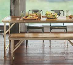 vintage dining room tables furniture astonishing chic waxed railroad tie dining table with