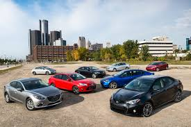 compact cars 2014 compact sedan comparison review day 1 automobile magazine