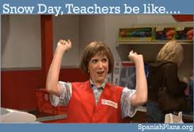 Teacher Lady Meme - the emotional roller coaster of the snow day memes that capture it all