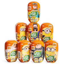 minion tic tacs where to buy tic tac banana tangerine flavored minions five below