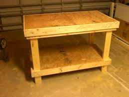 Kids Work Bench Plans Ana White 20 Very Sturdy Work Bench Diy Projects