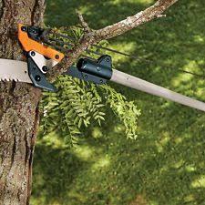 fiskars telescoping tree pruner 12 foot ft saw branch trimmer ebay