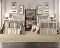 monaco king single double queen king size black white metal bed