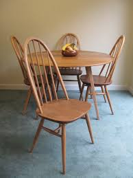 Ercol Dining Table And Chairs Vintage Table Chairs Opalfruitcake