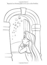 princess rapunzel coloring illustrations drawing