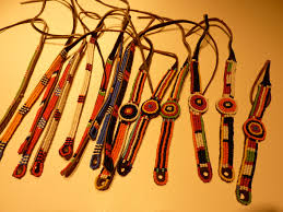 leather tie anklets u0026 bracelets namayiana maasai beadwork