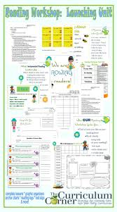 Curriculum Map Template Growing Readers Reading Workshop Launch The Curriculum Corner 123