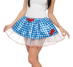 dorothy wizard of oz halloween costumes wizard of oz dorothy womens tutu skirt 355960