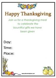 free thanksgiving invitations all free invitations