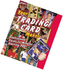 make your own trading cards photo craft
