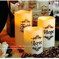 extra large candles romantic led candle lamp wedding birthday
