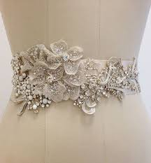 exclusive and most recent bridal sash belts designs how to do