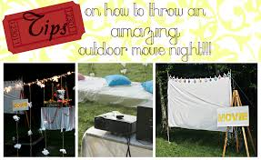 Movie Canopy by Backyard Movie Theater Party Home Outdoor Decoration
