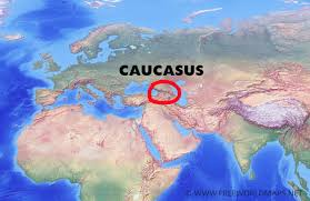 Where Is Europe On The Map by Caucasus Mountains Map