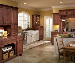Diamond Kitchen Cabinets by Rustic Kitchen With Contrasting Finishes U0027 Diamond Coconut