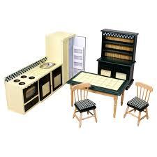 dollhouse kitchen furniture doug dollhouse kitchen furniture reviews wayfair