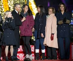 a look back at eight years of obama family white house christmases