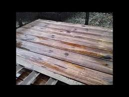 best method for treating wood decks on your utility trailer etc