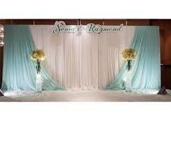 wedding backdrop layout 3 6m custom made wedding accessories background gauze cloth