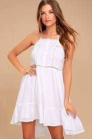 sun dress o neill cascade dress white sundress boho dress
