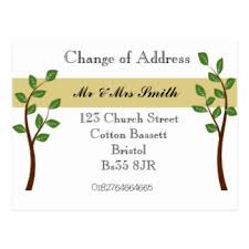 change of address cards invitations greeting photo cards zazzle