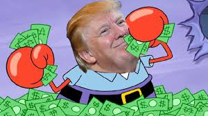 trump is mr krabs youtube