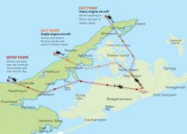 Flight Path Map Will These New Routes Help Solve Southold U0027s Helicopter Noise