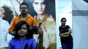 kolkata bloggers meet green trends salon festive hairstyle