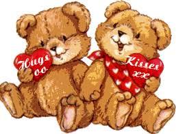 valentines bears animal clipart