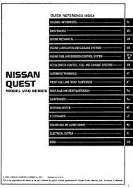 nissan service repair manuals pdf free downloads