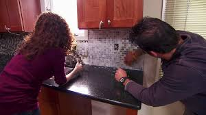 Pictures Of Stone Backsplashes For Kitchens Tumbled Marble Backsplashes Pictures U0026 Ideas From Hgtv Hgtv