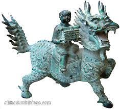 qilin statue bronze qilin hoi an all the dumb things