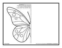 butterfly symmetry lessons tes teach