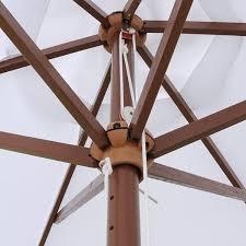 Wood Patio Umbrellas 8 Foot Wooden Patio Umbrella Fair Wooden Patio Umbrellas Home