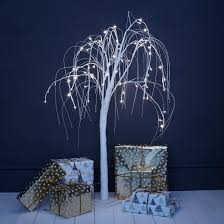 white willow indoor led tree primrose plum