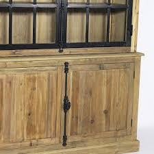 meuble cuisine vaisselier meuble cuisine bois massif 2 buffet vaisselier industriel 2