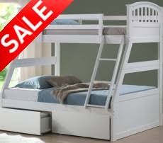 Scotland Beds And Mattresses Scotland Bunk Beds - Triple bunk beds with mattress
