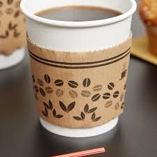 Coffee Mug Images Choice 8 Oz Printed Coffee Cup Sleeve Jacket Clutch 1200 Case