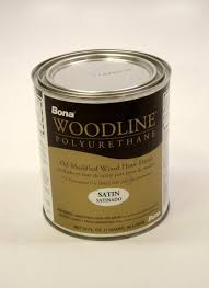 bona woodline polyurethane satin based hardwood floor finish