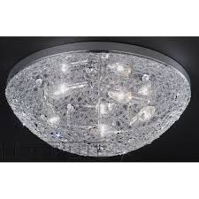 Chrome Ceiling Lights Uk Franklite Fl2289 5 Sirius Chrome Flush Ceiling Light Love4lighting