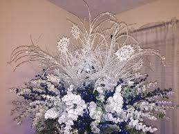 Blue White And Silver Christmas Tree - 80 best christmas trees images on pinterest christmas trees