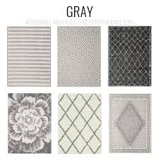 Gray Area Rug Stylish Affordable Area Rugs Grey Rugs Budgeting And Modern