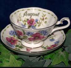 royal albert china series flower of the month series 1970