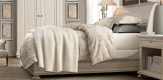 White Sleigh Bed St Sleigh Bedroom Collection Antiqued White Rh
