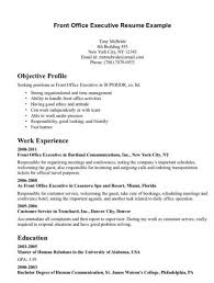 executive resumes exles front desk executive resume http jobresumesle 2046 front