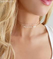 double chain necklace choker images Best 25 rose gold choker necklace ideas rose gold jpg
