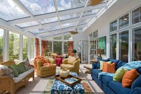 Concept Ideas For Sun Porch Designs St Louis Xv Chairs Sunroom Traditional With Ceiling Fan