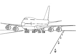 free printable airplane coloring pages kids coloring book