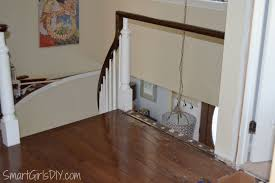 How To Install Laminate Wood Flooring On Stairs Upstairs Hallway 2 Hardwood Spindles